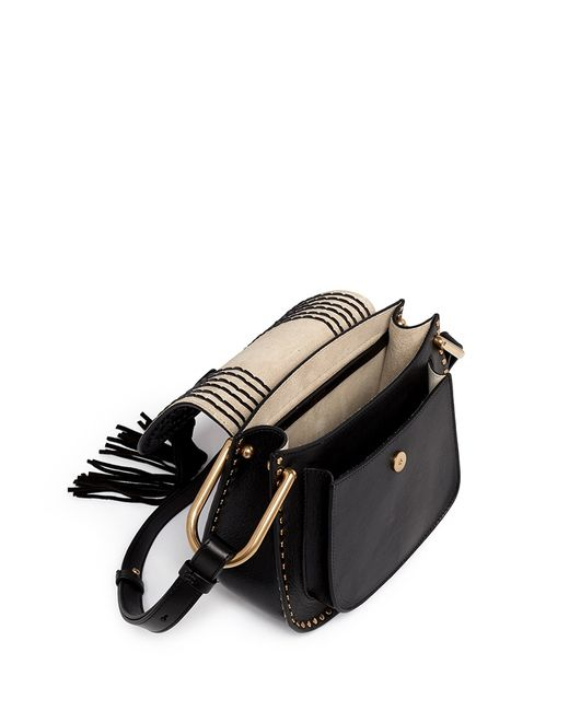 replica chloe - Chlo�� Mini \u0026#39;hudson\u0026#39; Shoulder Bag in Black - Save 13% | Lyst