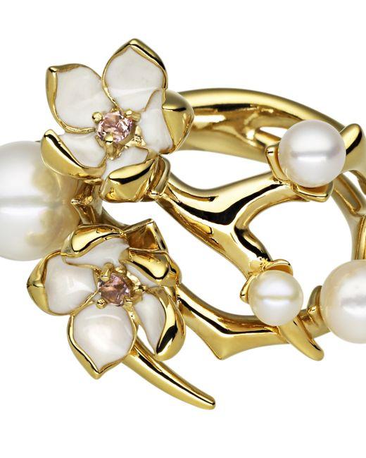 Shaun Leane | Metallic Cherry Blossom Gold Ring | Lyst