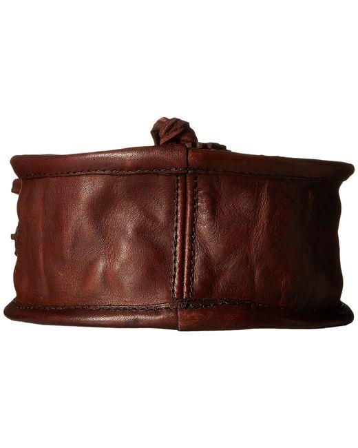 Frye   Brown Layla Concho Circle Bag   Lyst