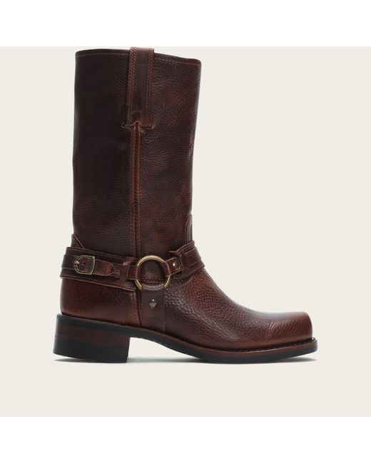 Frye | Brown Harness 12r Belted for Men | Lyst