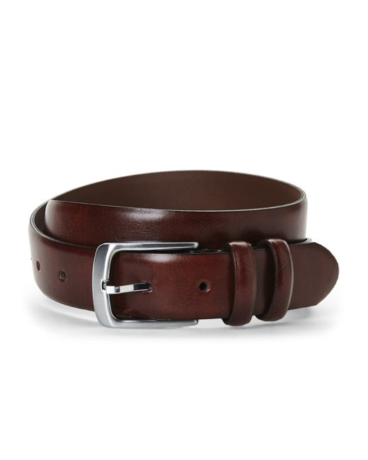 Bosca | Brown Feather Edge Belt for Men | Lyst