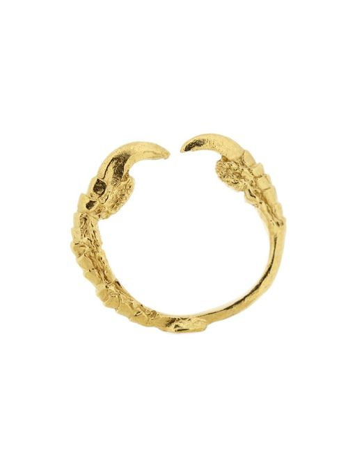 Tessa Metcalfe | Metallic Single Claw Ring Gold | Lyst