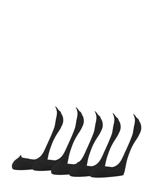 Calvin Klein | Black 5-pack No Show Liner Socks | Lyst