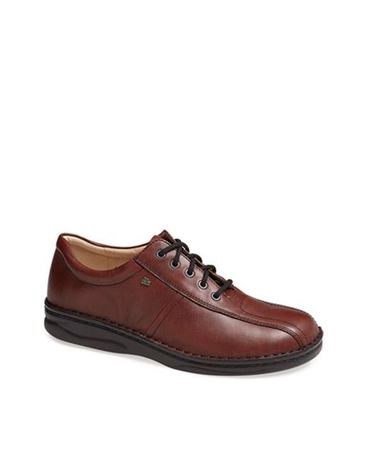 Finn Comfort | Brown 'dijon' Bicycle Toe Oxford for Men | Lyst