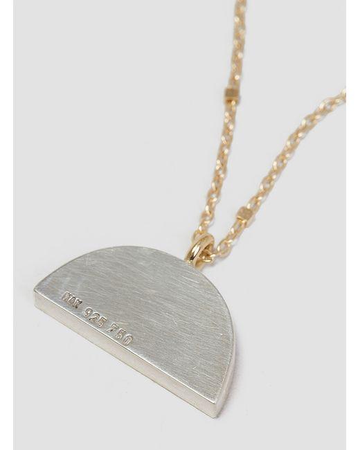 Katrine Kristensen   Metallic Mini Sunrise Necklace 18ct   Lyst