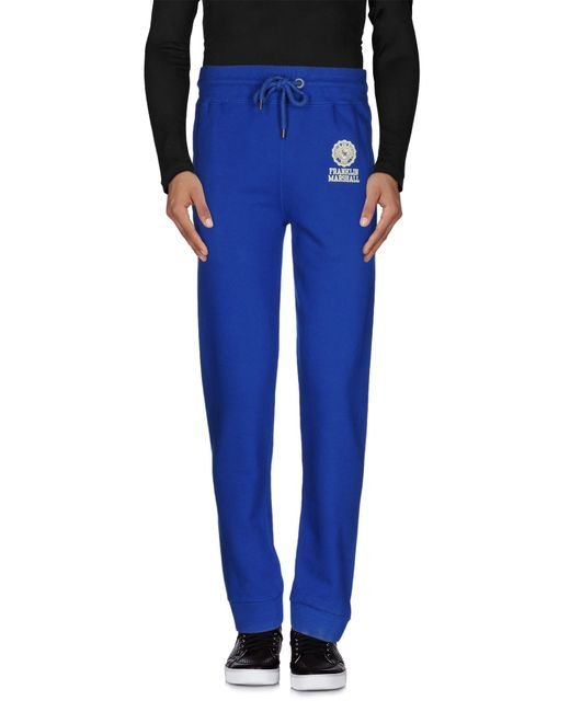 Franklin & Marshall | Blue Casual Pants for Men | Lyst