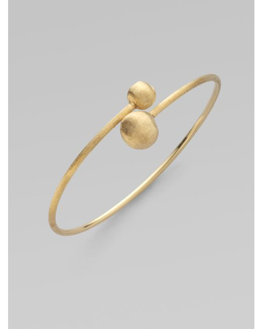 Marco Bicego | Metallic Africa 18k Yellow Gold Small Bypass Bracelet | Lyst