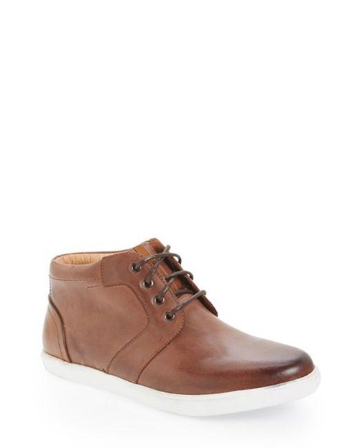 Joe's Jeans | Brown 'chadd' Chukka Sneaker for Men | Lyst