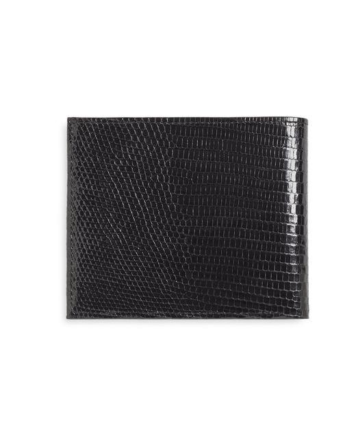 Brooks Brothers   Black Lizard Wallet for Men   Lyst