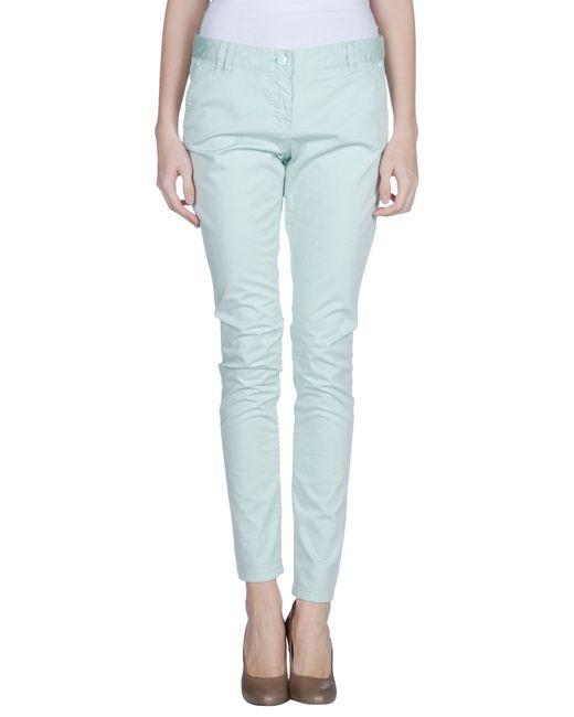 GAUDI | Green Casual Pants | Lyst