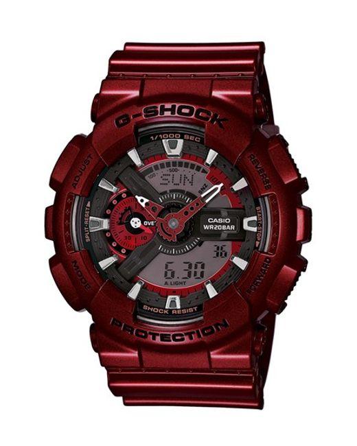 G-Shock | Red G-shock Xl Resin Ana-digi Watch for Men | Lyst