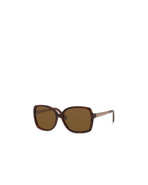 Kate Spade | Brown Darilyn Oversized Polarized Square Sunglasses, 58mm | Lyst
