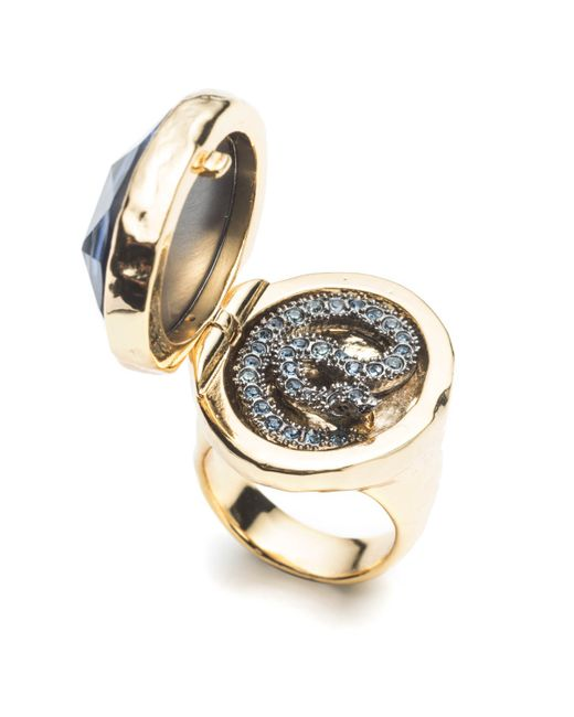 Alexis Bittar | Metallic Coiled Serpent Poison Cocktail Ring You Might Also Like | Lyst