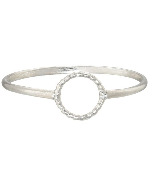 Dogeared | Metallic Tiny Sparkle Karma Circle Ring | Lyst