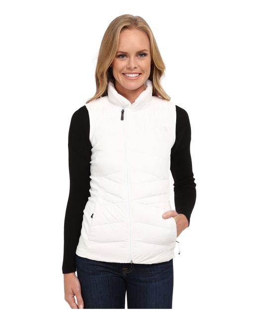 The North Face | White Lucia Hybrid Down Vest | Lyst