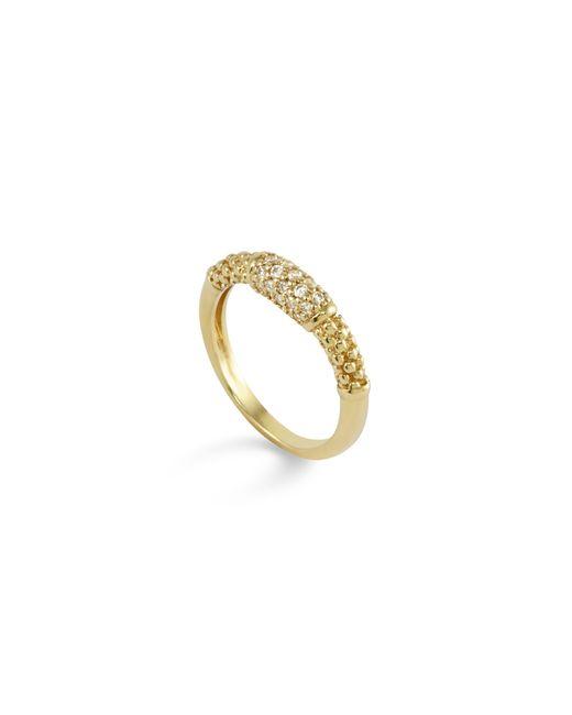 Lagos | Metallic 18k Gold And Diamond Ring | Lyst