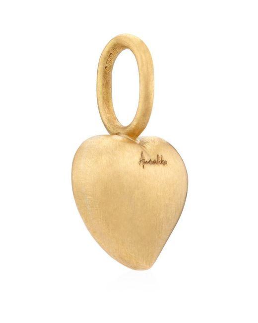 Annoushka   Metallic Small Heart Pendant   Lyst