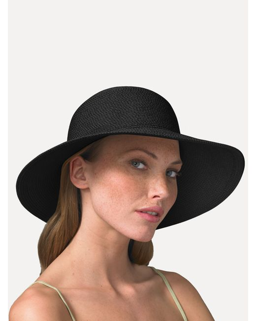 Eric Javits | Black Floppy Hat | Lyst