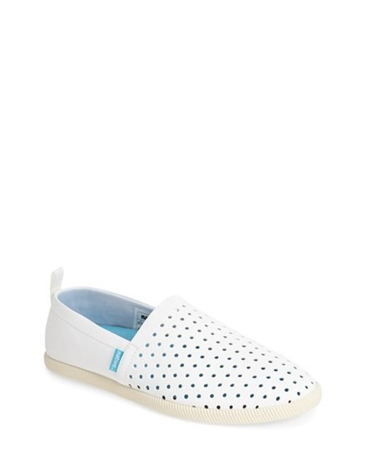 Native Shoes | White 'venice' Slip-on for Men | Lyst