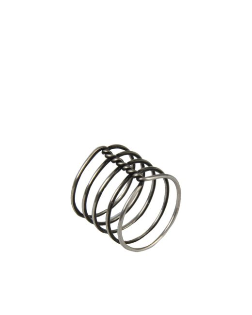 Ann Demeulemeester | Metallic Ring | Lyst