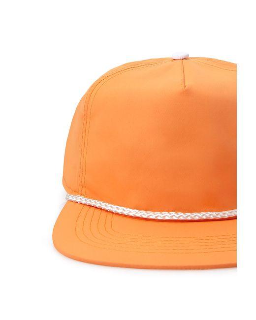 Forever 21 | Orange Cord-trimmed Flat-brim Hat | Lyst