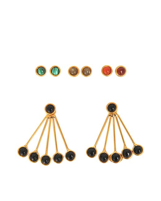 Sylvia Toledano | Black Les Infidèles Ear Jacket Set Of Earrings | Lyst
