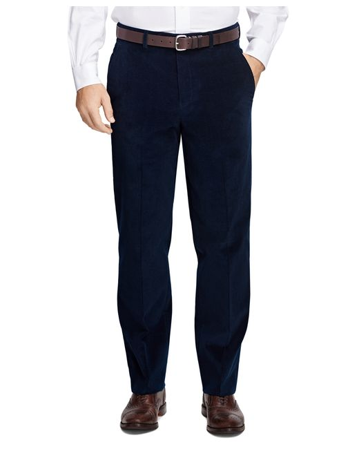 Brooks Brothers | Blue Fitzgerald Fit Corduroy Trousers for Men | Lyst
