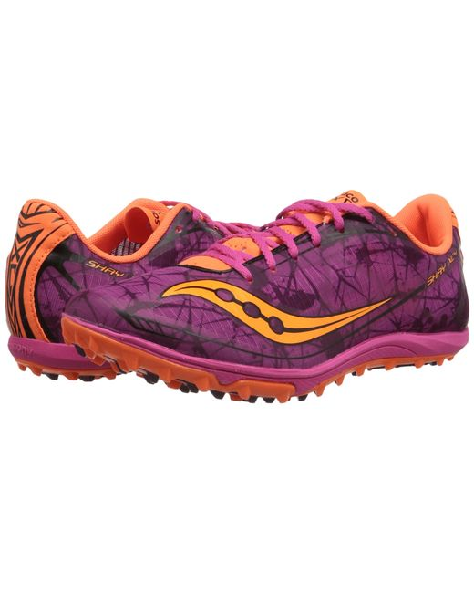Saucony   Purple Shay Xc4 Flat   Lyst