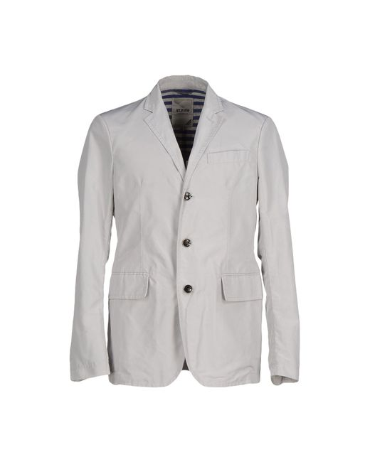 AT.P.CO | Gray Blazer for Men | Lyst