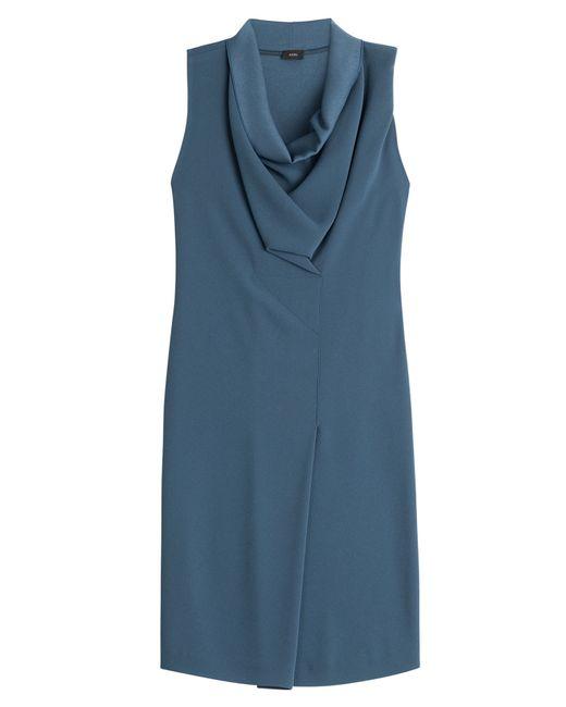 JOSEPH | Crepe Dress - Blue | Lyst