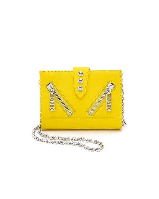 KENZO | Pink Kalifornia Cross Body Bag - Citron | Lyst