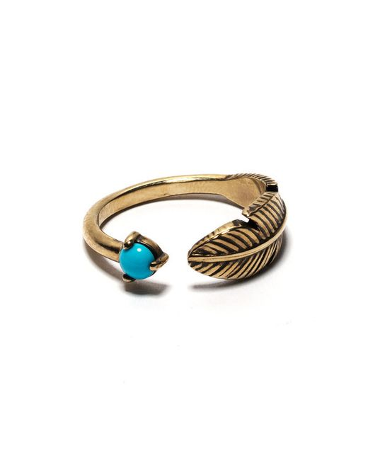 Pamela Love | Blue Pluma Ring | Lyst
