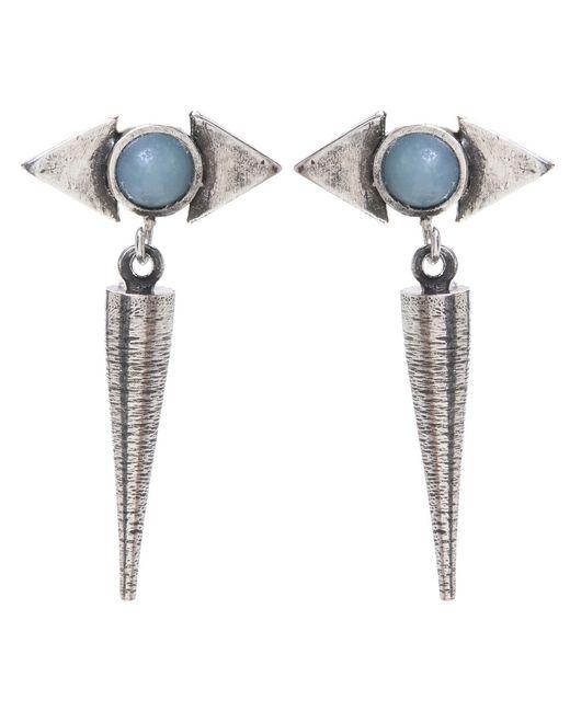 Jill Golden | Metallic Reflection Spike Earring | Lyst