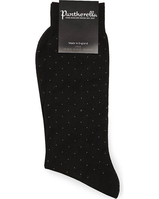 Pantherella | Black Pin Dot Socks for Men | Lyst