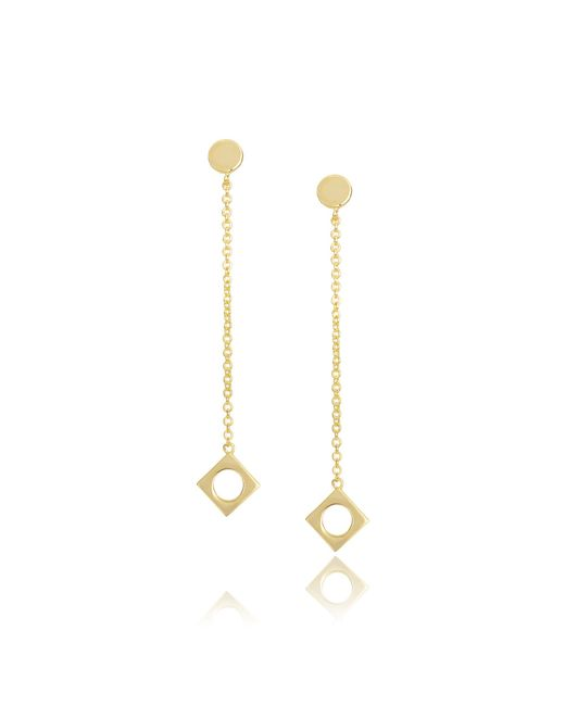 Arme De L'Amour | Metallic Drop Earrings | Lyst