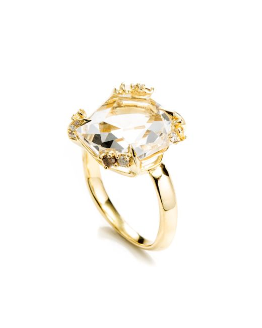 Alexis Bittar | Metallic Golden Ice Marquis Fancy Cut Ring You Might Also Like | Lyst