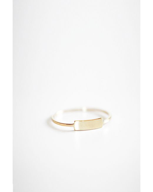 Kristen Elspeth | Metallic Gold Blade Ring | Lyst