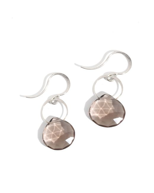 Melissa Joy Manning | Metallic Large Smokey Quartz Drop Earrings | Lyst