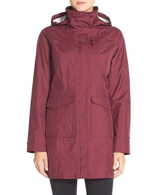 Patagonia | Red 'torrentshell' Waterproof City Coat | Lyst