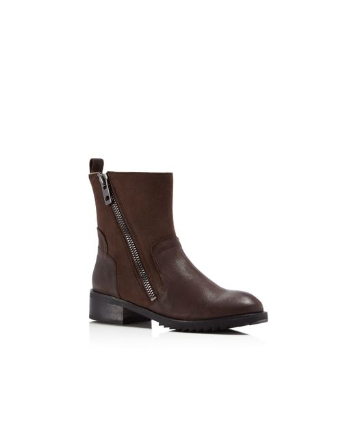 Dolce Vita | Brown Kincaid Shearling Booties | Lyst