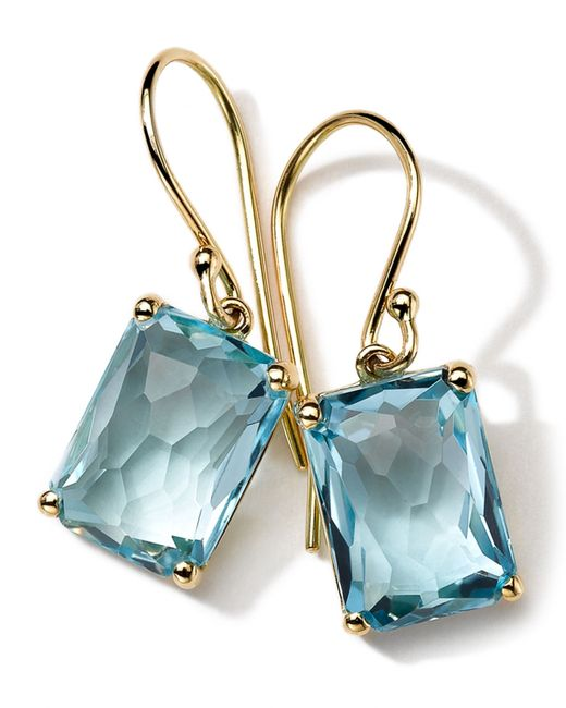 Ippolita | Blue 18k Gold Rock Candy Gelato Topaz Earrings | Lyst