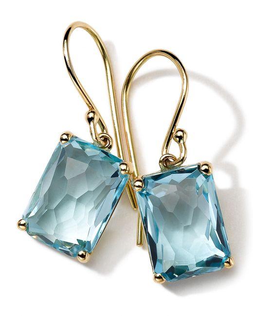 Ippolita | Metallic 18k Gold Rock Candy Gelato Topaz Earrings | Lyst