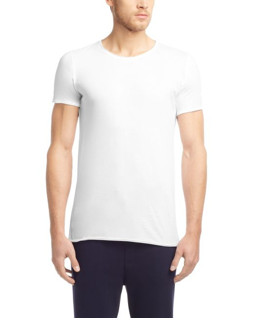 HUGO | White Relaxed-fit T-shirt In Supima Cotton for Men | Lyst