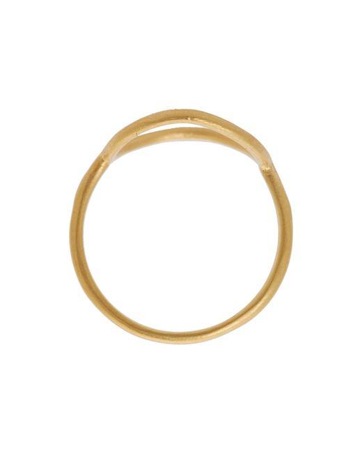 Dogeared | Metallic Karma Medium Smooth Ring | Lyst