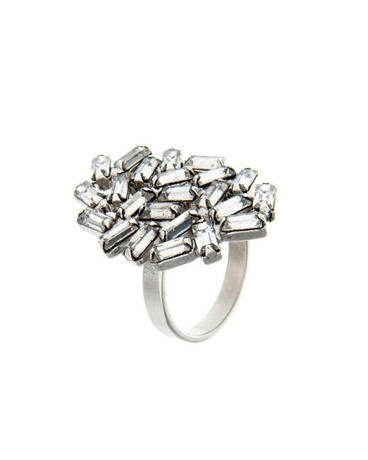 DANNIJO | Metallic Opal Ring | Lyst