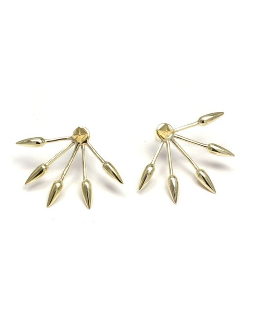 Pamela Love | Yellow 5 Spike Earrings | Lyst