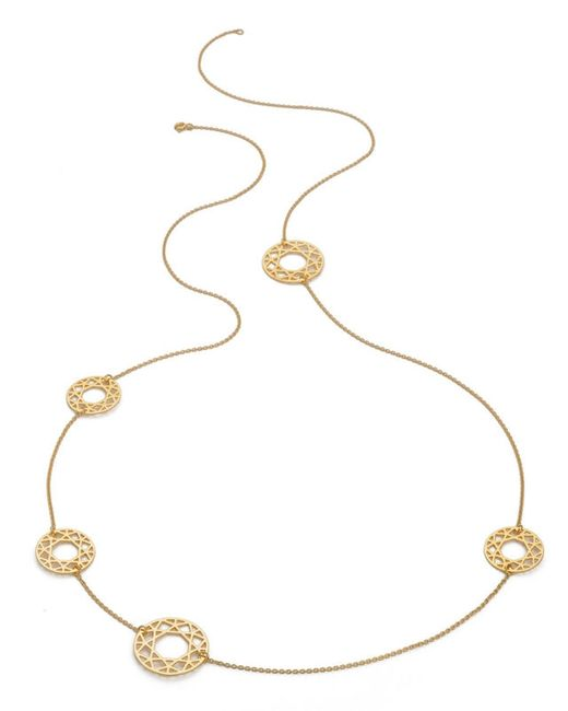 Myia Bonner | Metallic Multi Gold Brilliant Diamond Necklace | Lyst