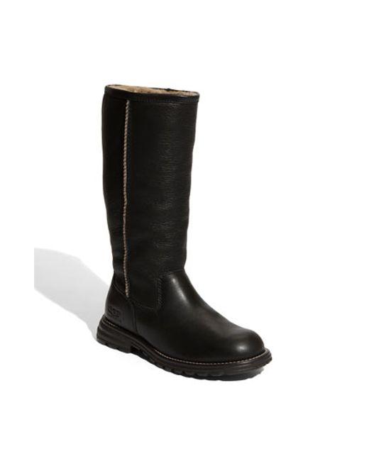 UGG | Black Ugg 'brooks' Tall Boot | Lyst