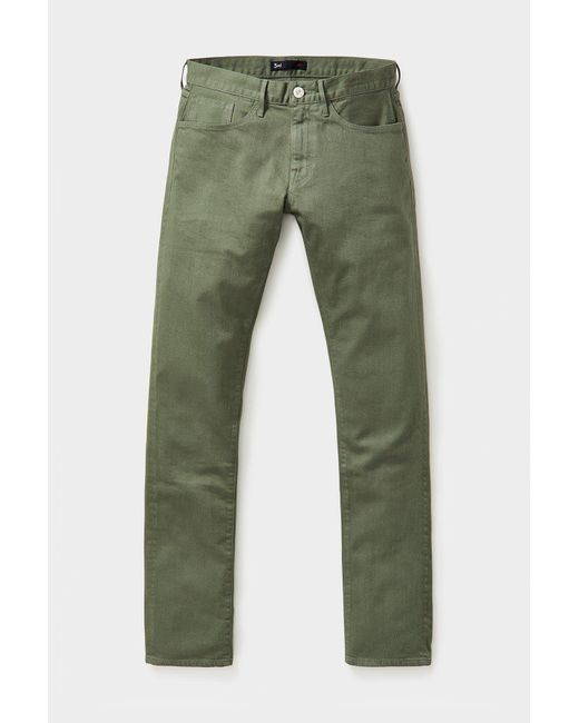 3x1 M3 Slim Straight Jean Army Green Xx406 for men