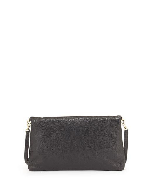 Balenciaga | Black Giant 12 Envelope Clutch Bag With Strap | Lyst